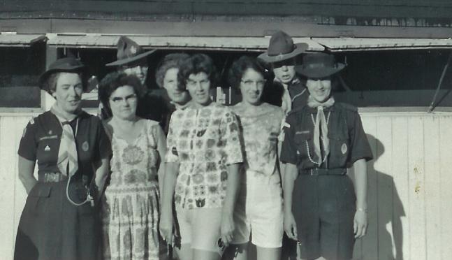 1964 camp staff