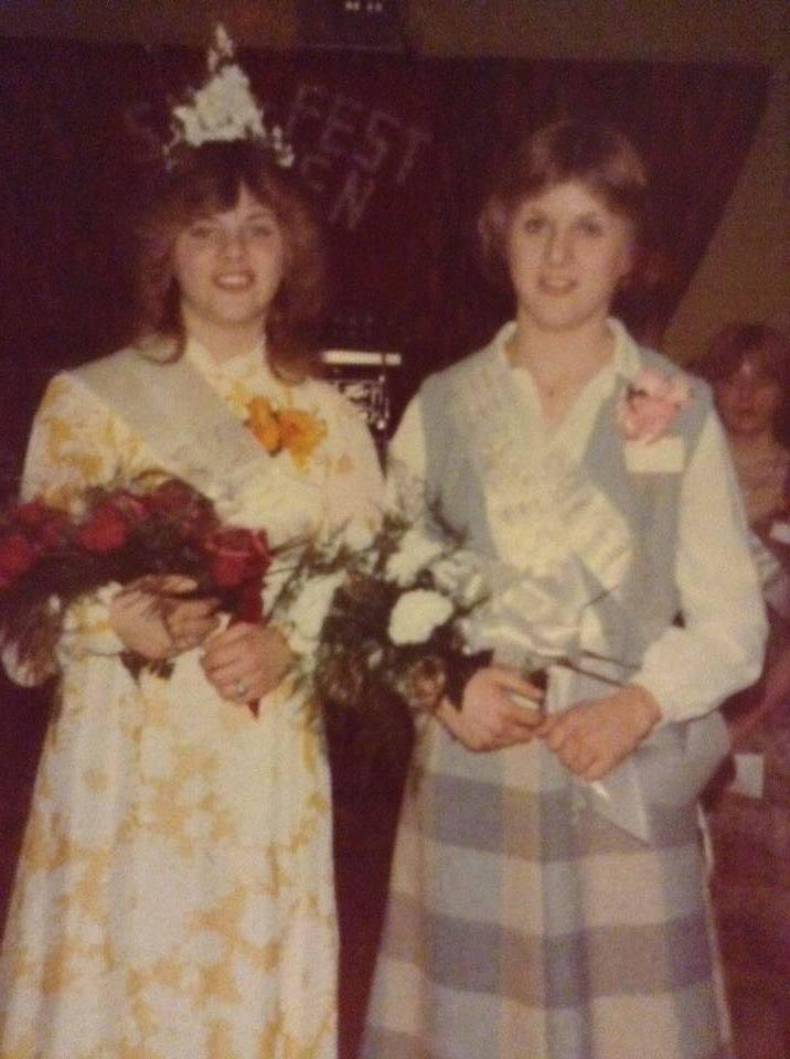 1980 Snofest queen Jackie Logan, Donalda Leonard