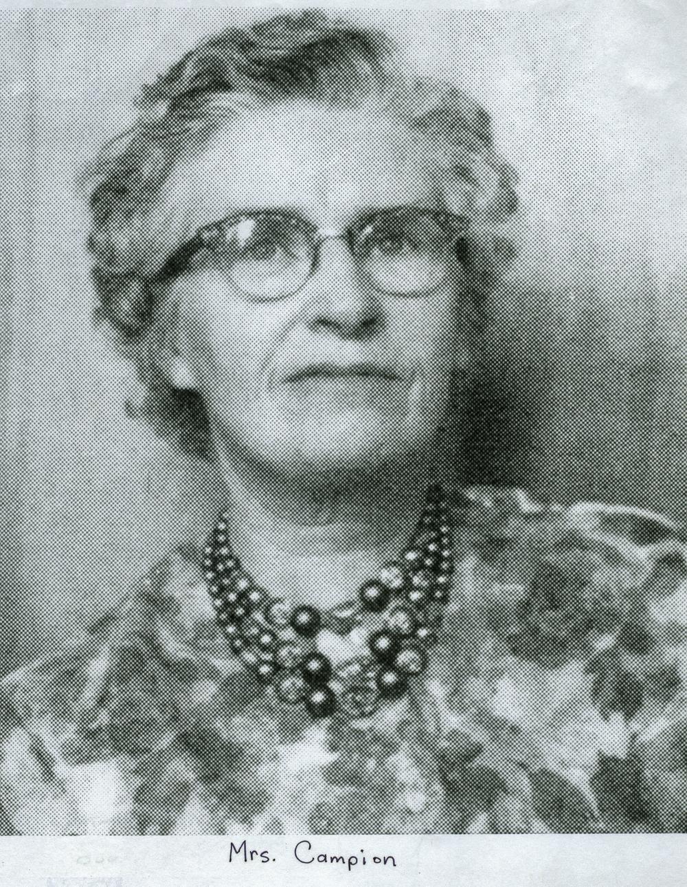 Winnie Campion