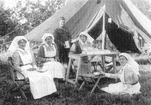 Canadian nursing sistersWW1