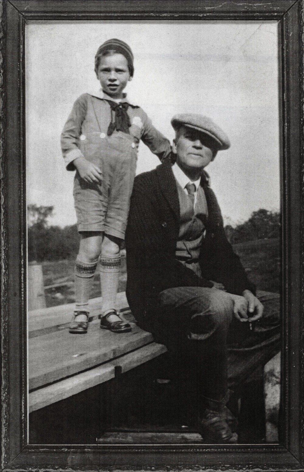 Jim Marett & father F.N. Marett 1929