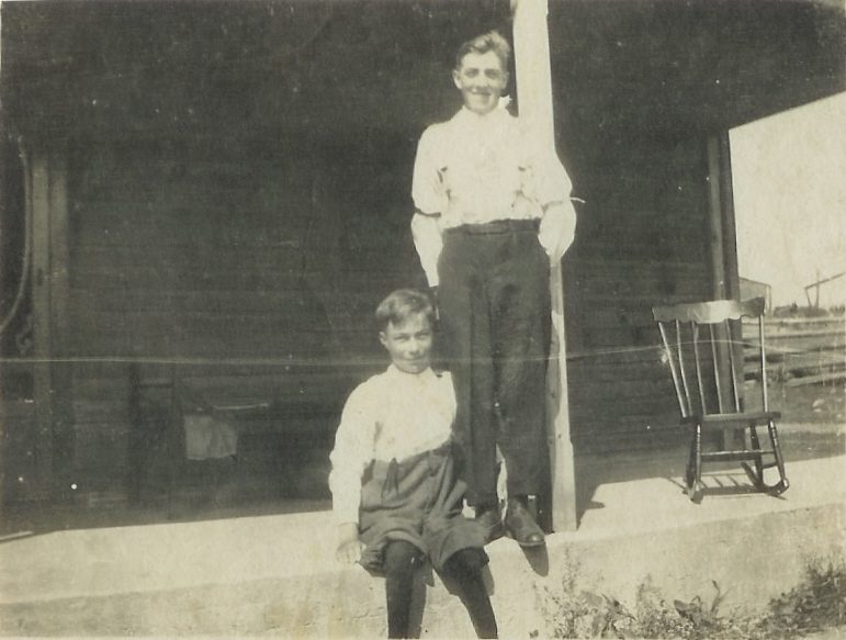 1919 John and Harry VanVolkenburg