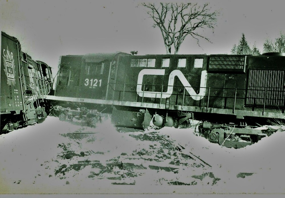 1973 train accident at Marmora Station.jpg