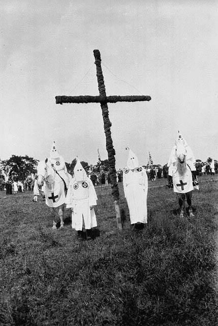Kingston Ku Klux Klan rally in 1927