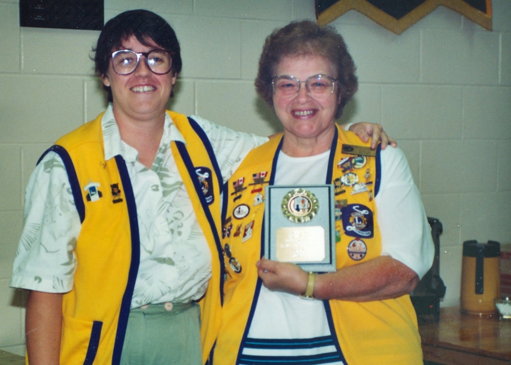 1995 Nancy Powers and Marilyn Maloney