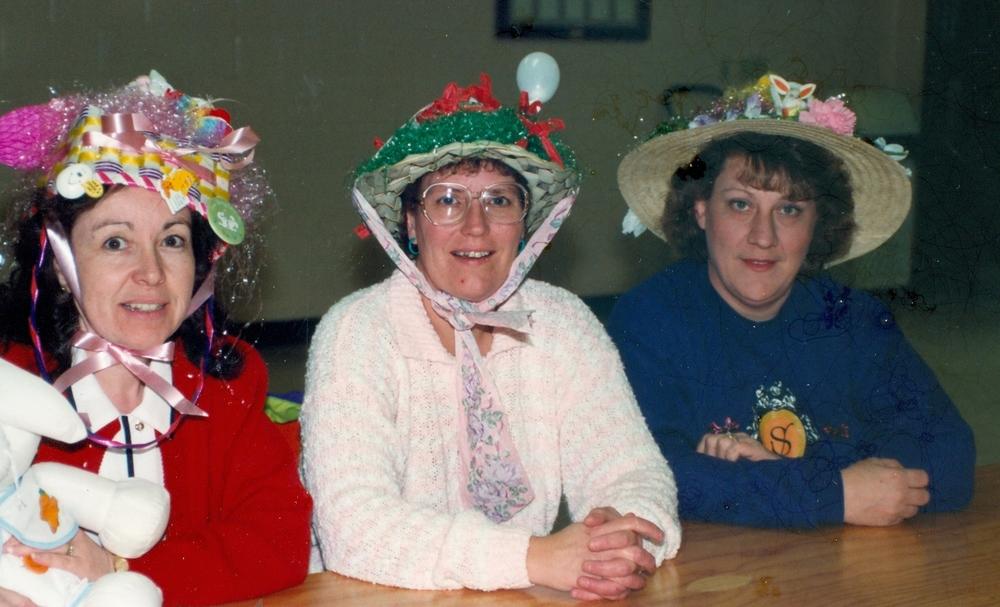 1995 Mary Jane Goodchild, Janet Deline & Trudy Doyle