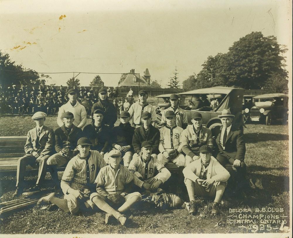 Deloro B.B. Club Champions Central Ontario 1925