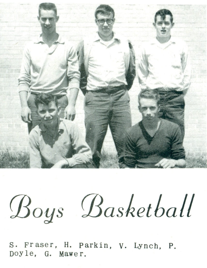 Sports Marmora High School 1963 Intramural Boys' Basketball