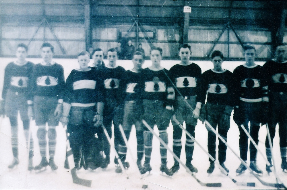 Marmora High school Hockey Feb. 1938