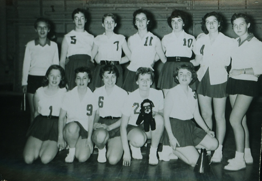 Marmora High School  Janie Fox, Deanna McCoy, Patricia Spry, Marion Wells, Donna Osborne, Marilyn Flynn