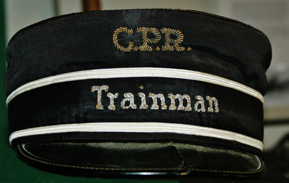 CPR Trainman's hat.JPG