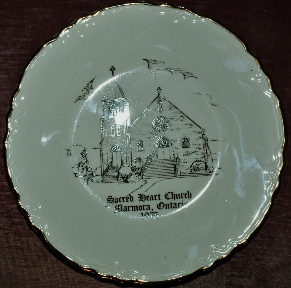 Sacred Heart Church Plate, 1975.JPG