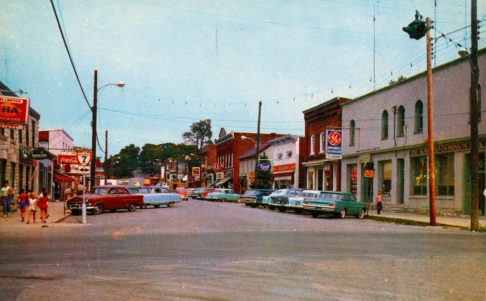 Forsyth Street  looking north from #7 Highway, Marmora.jpg