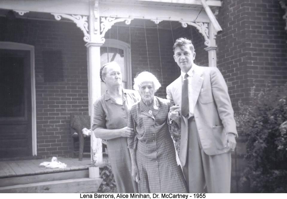 Lena Barrons, Alice MinihanE, Dr, McCarthy  1955