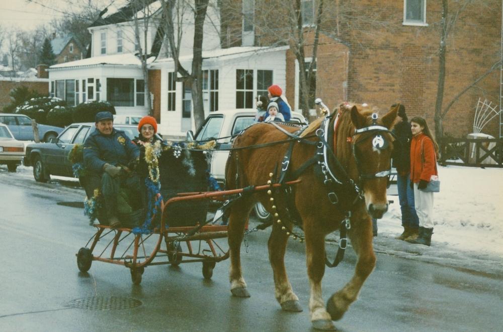 Marmora Christmas Parade, 1992 Carman and Elly Hamilton.jpg