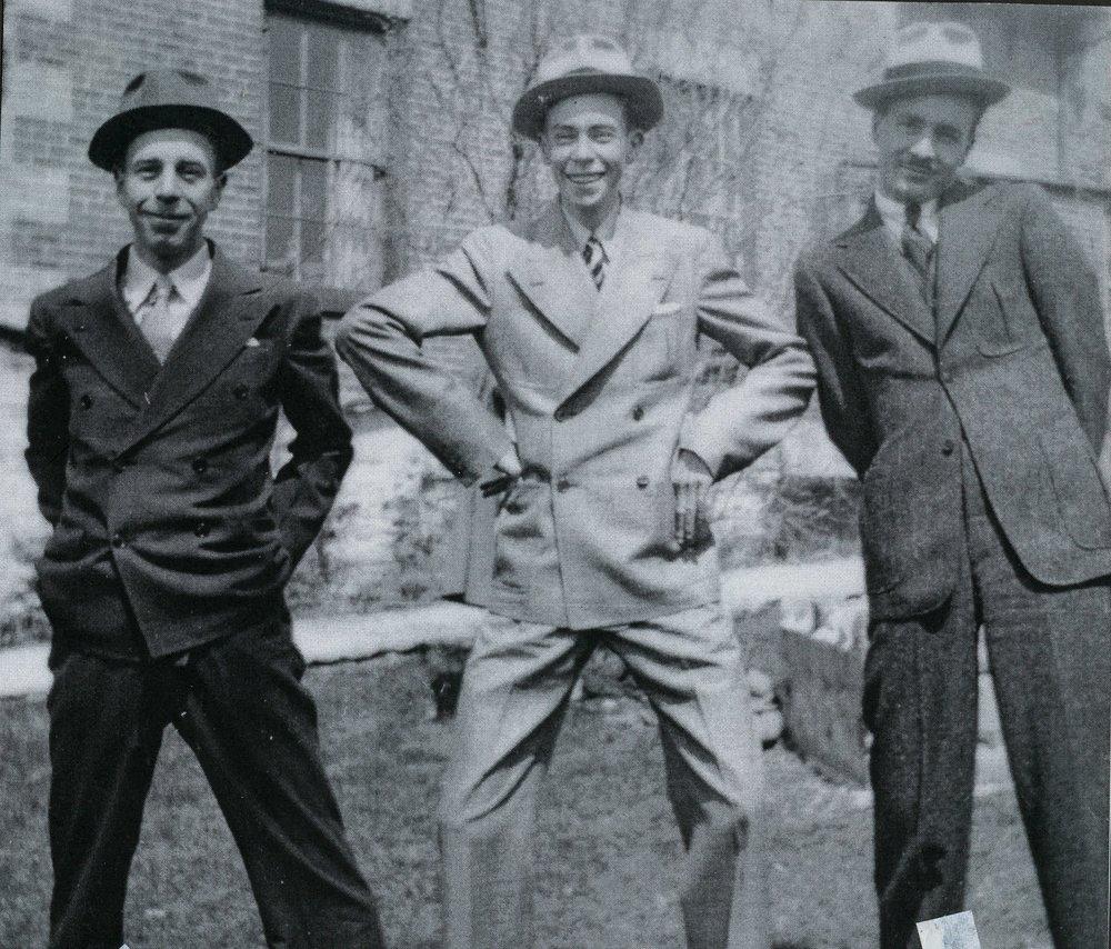 The Marett Boys, Don, Jim & Doug, 1932