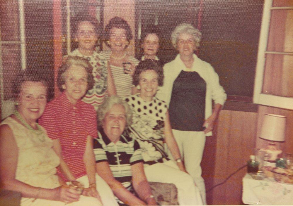 Gaffney girls - Chloe, Madeline, Catherine, Lorraine, Anne, Helen, Margaret, Eugena