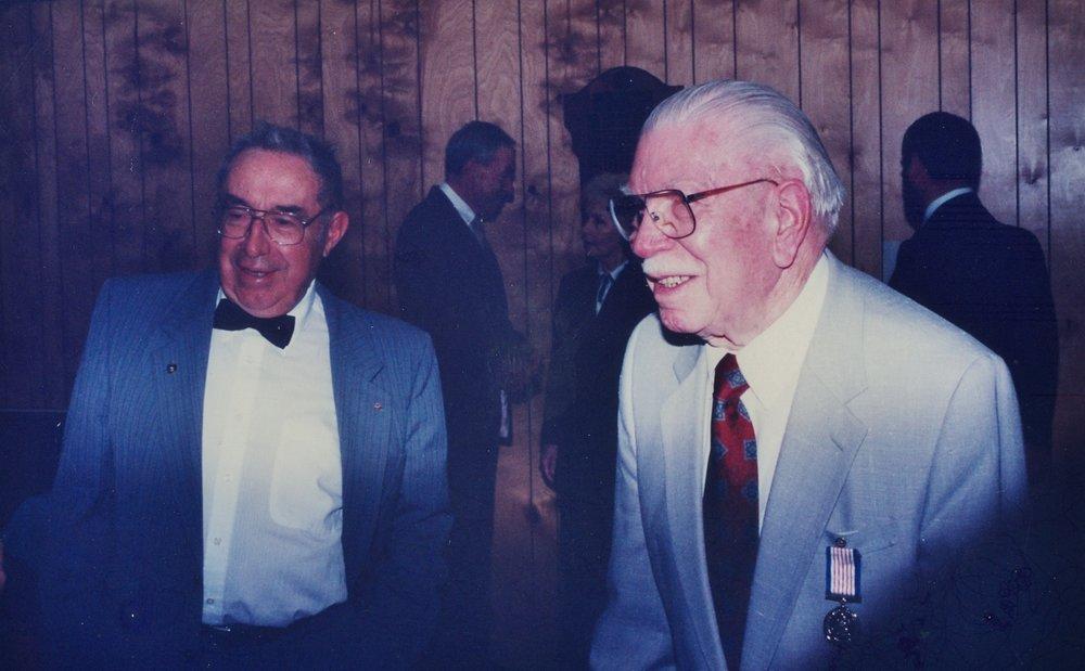 Jack Grant & Dr. Herb. Parkin