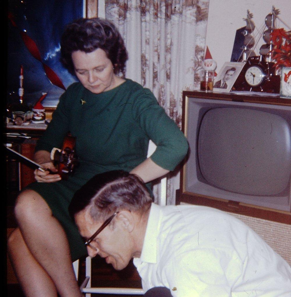 Dorothy Glover and John VanVolkenburg