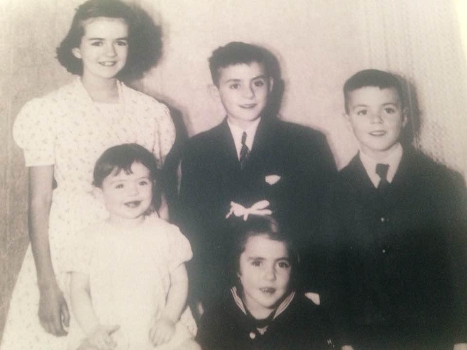 Joan, Gerald, Guy, Diane, Kathleen Belanger