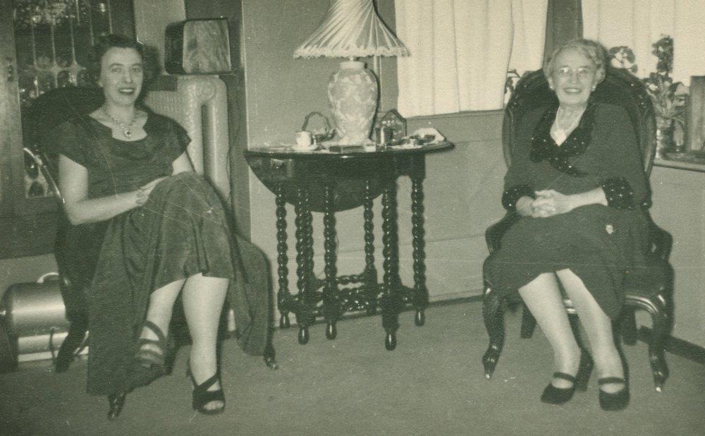 Ruth Elizabeth Hodge, Cora L. Hodge