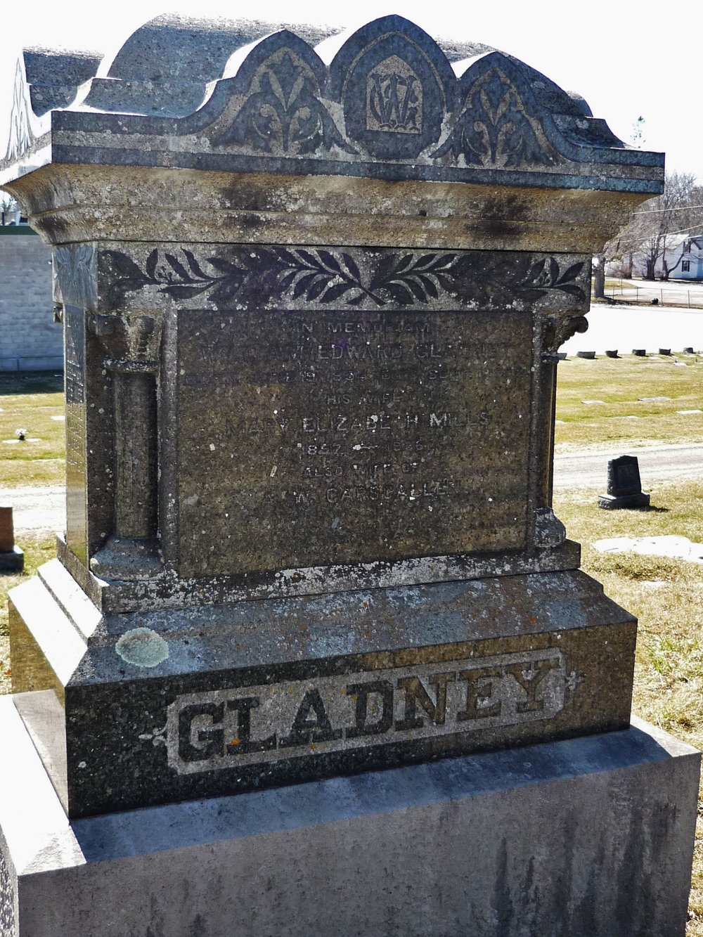 Marmora Common Cemetery GLADNEY.JPG