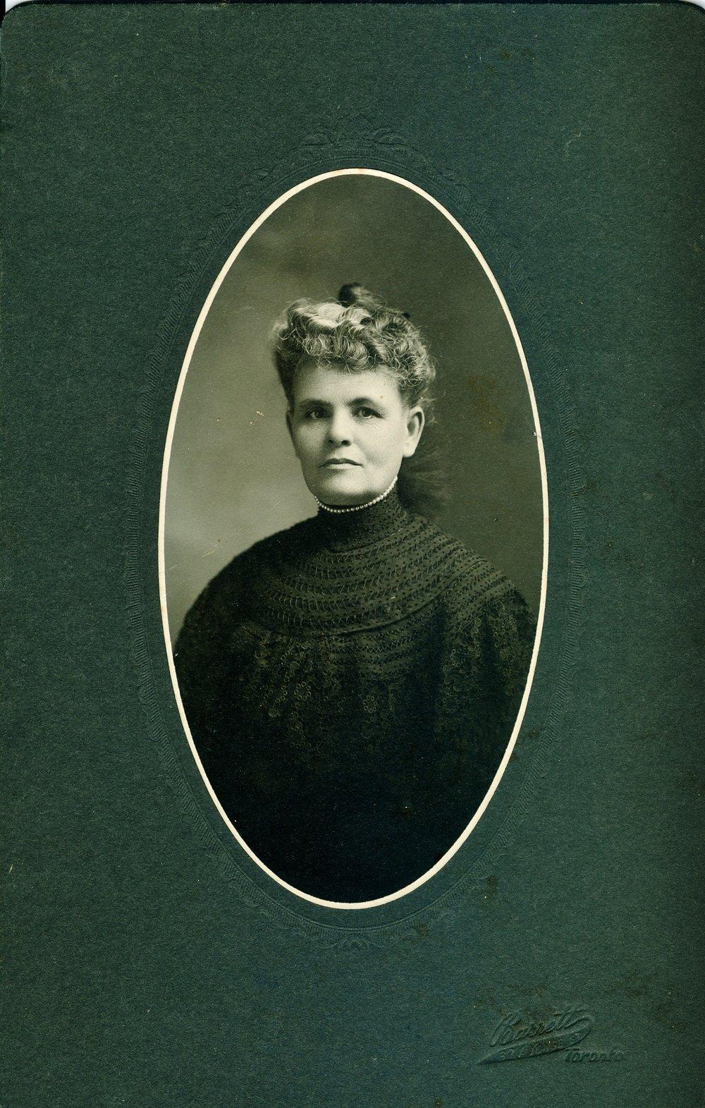 Mary Elizabeth Mills Gladney Carscallen (1857-1936)