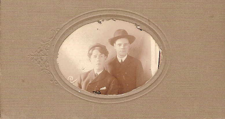 Laycock boys - Samuel on right