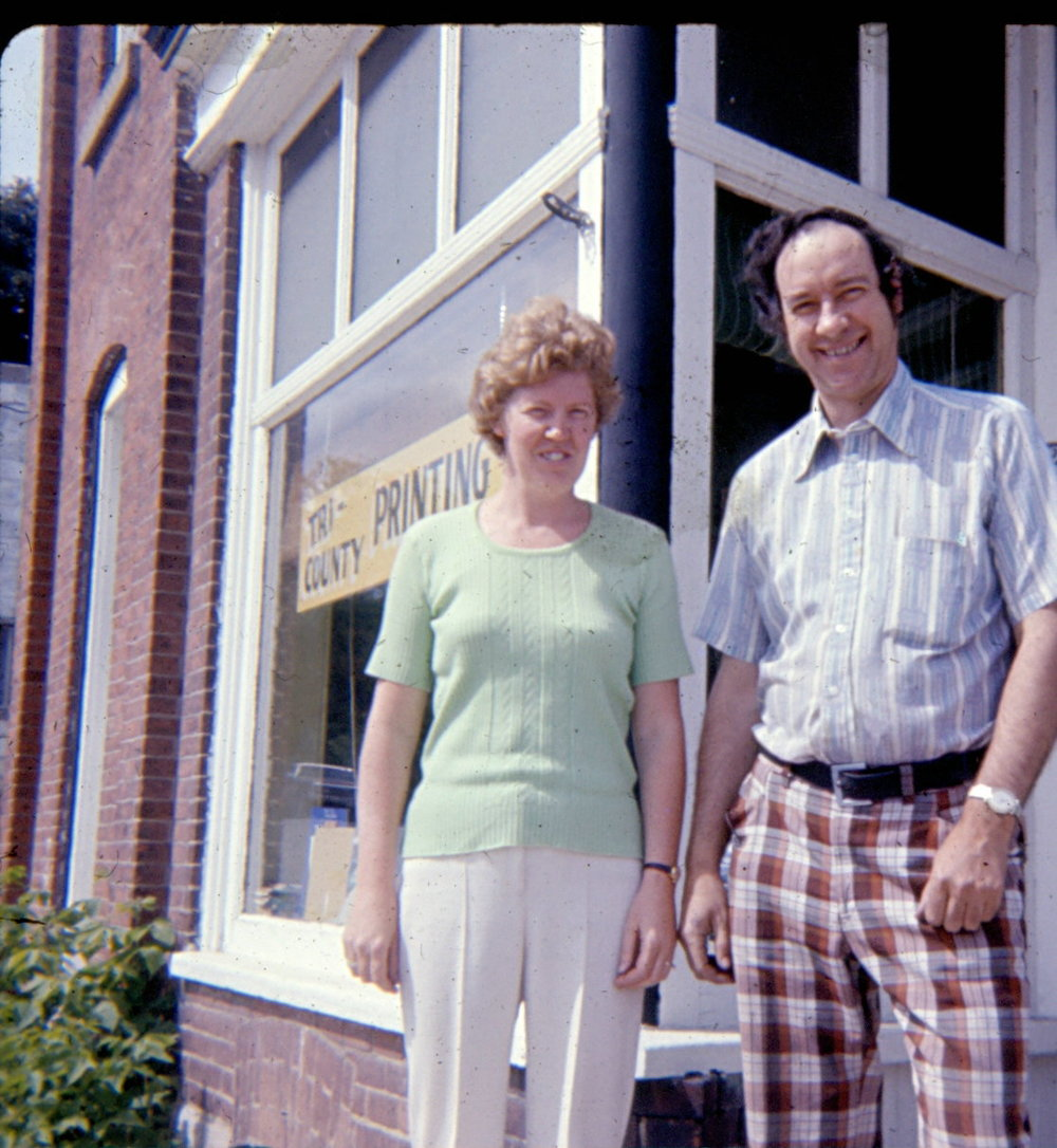 Sheila and Jack Golden - Tri County Printing