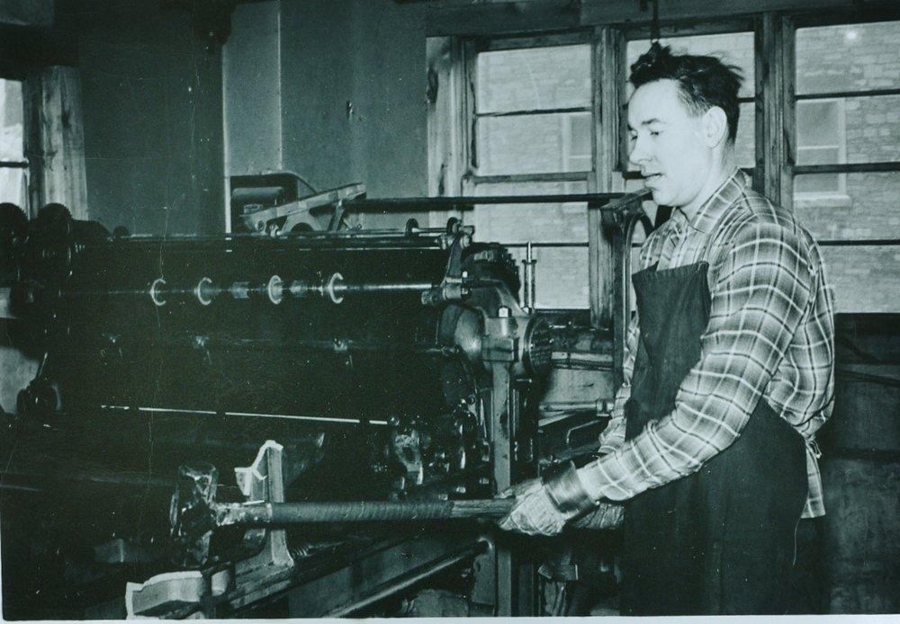 Jack Golden at the press
