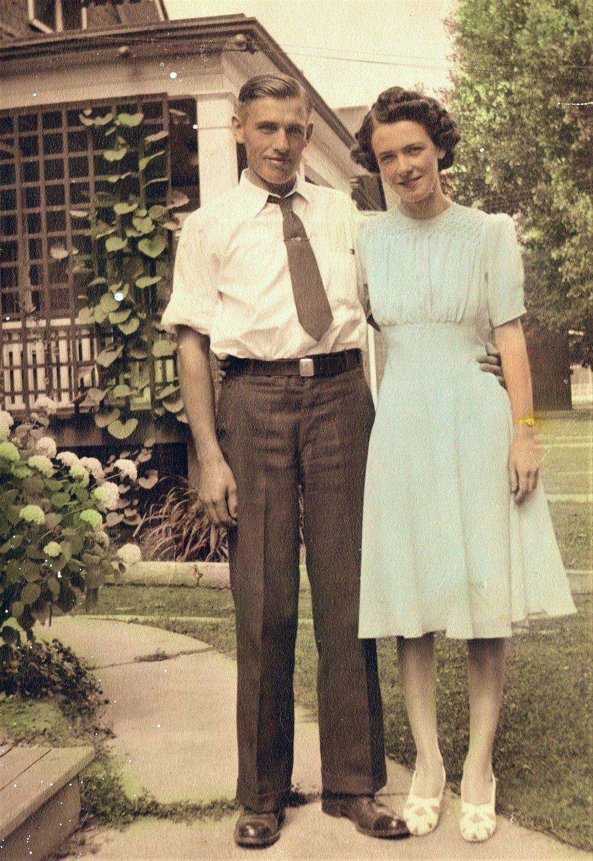 1941 - Doris and John VanVolkenburg - Oshawa