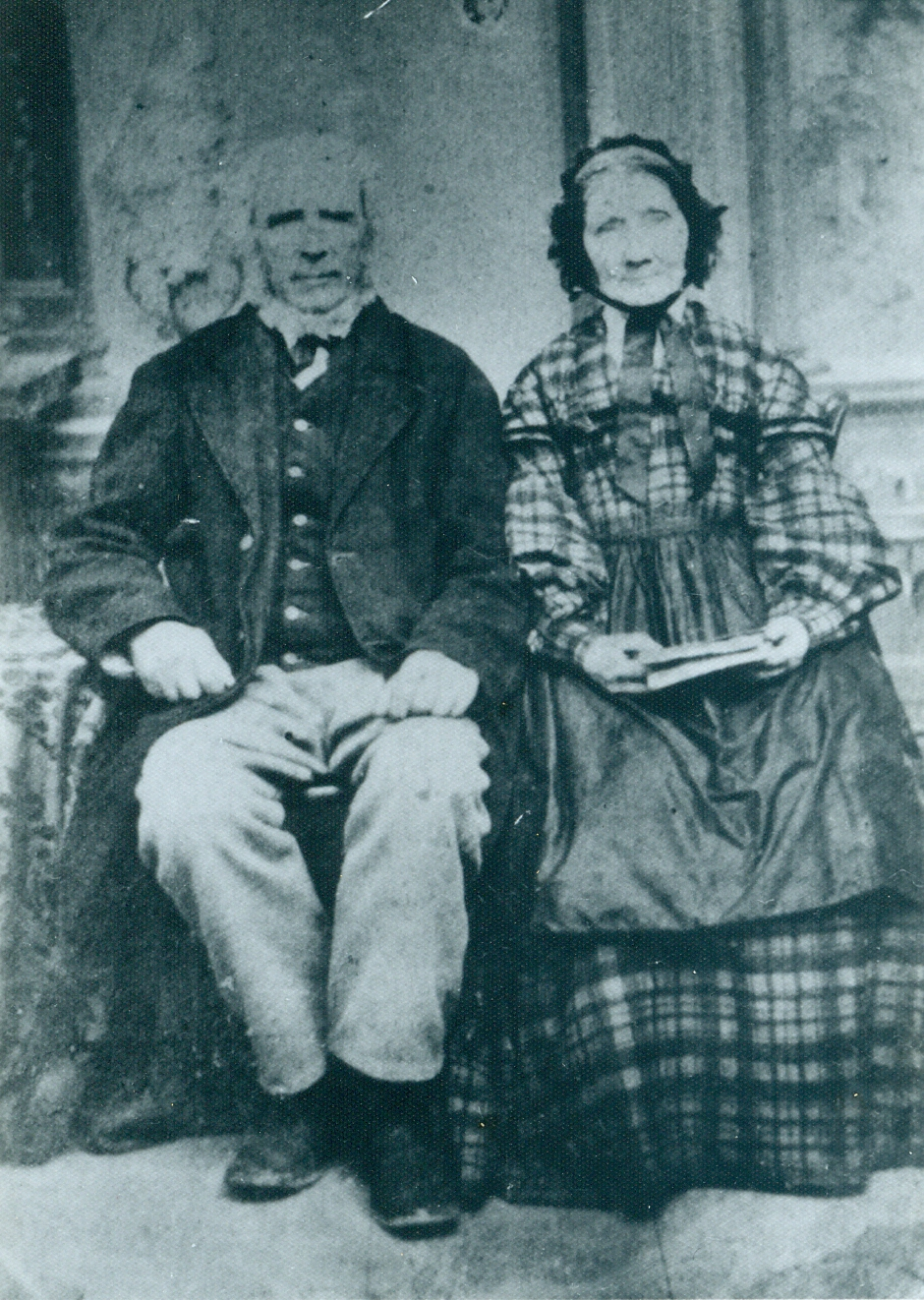 Edward Stanbury and Mary Jane Aunger Stanbury n 1852, John emigrated to Canada and sought out his aunt and uncle,  Edward Stanbury and Mary Jane Aunger,   living in Seymour Township,  whose  daughter,  Catherine,  he later married