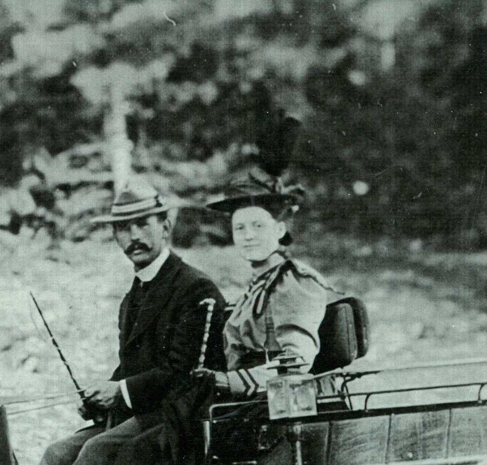 Frank  Pearce and Bess Pearce