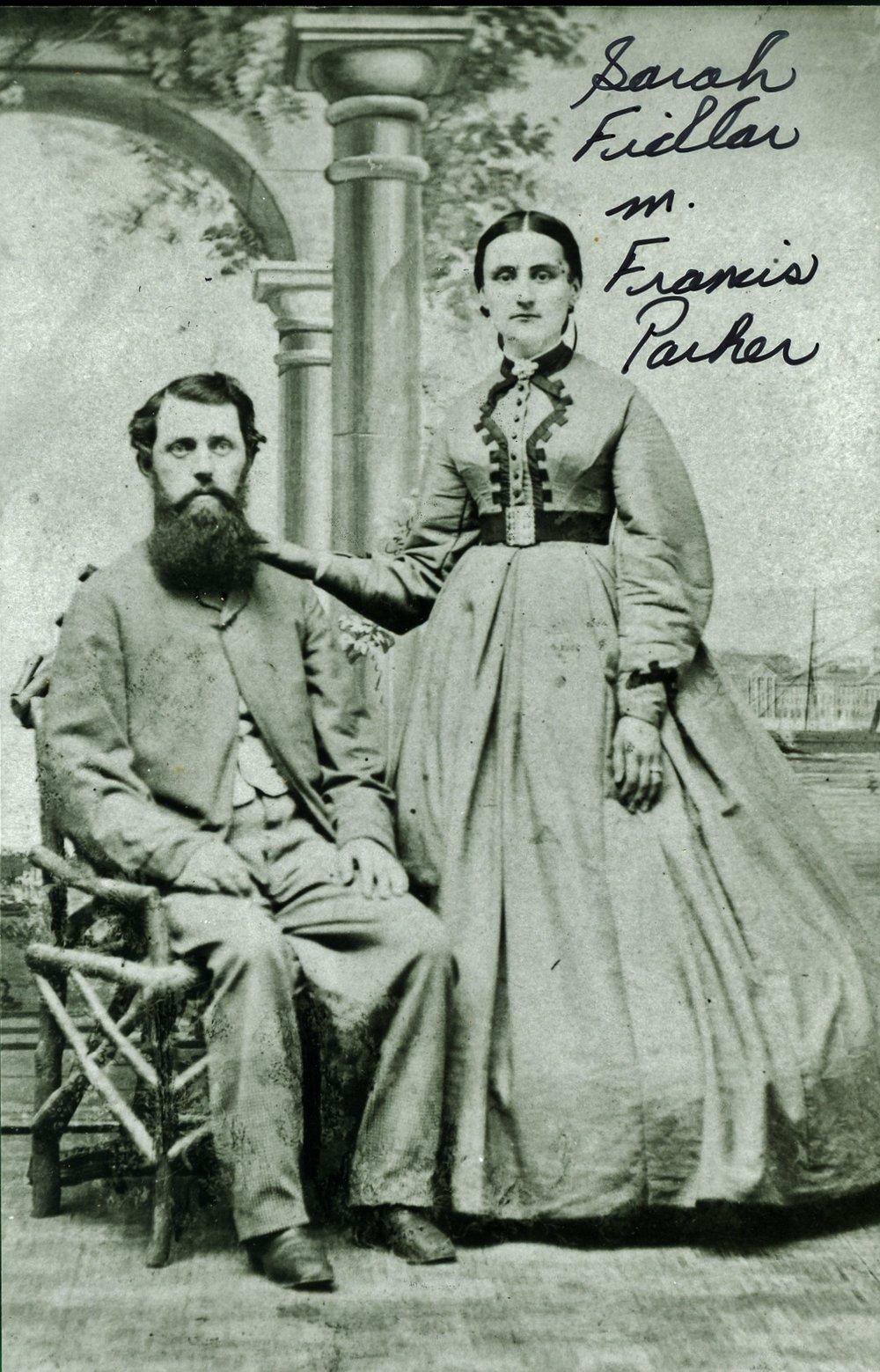 Francis B. Parker/Sarah Fidlar