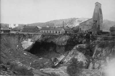 Worthington  Ontario mine collapse