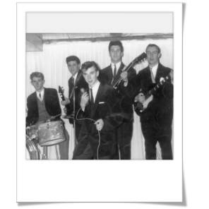 Jeff and the Continentals  c.1963     Photo by T. O'Neill