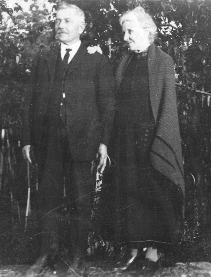 Edmond and sister Delia Clairmont