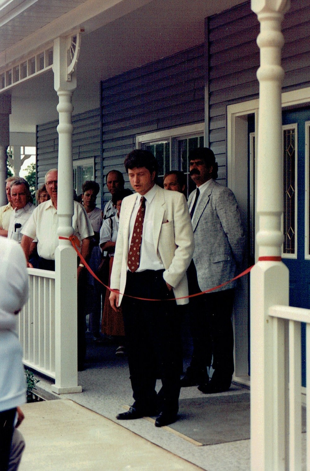 1991 Opening of Medical Centre by Dr. Dawson (4).jpg