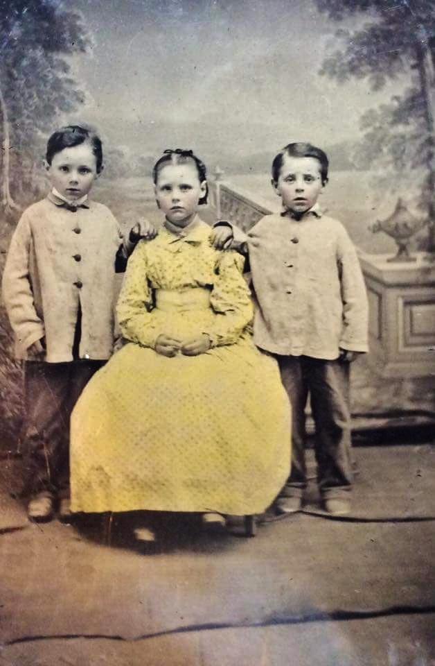 Joseph Eugene Shannon 1889-1961, Madeleine Sarah Shannon 1894-1963 and Donald James Shannon 1891-1935