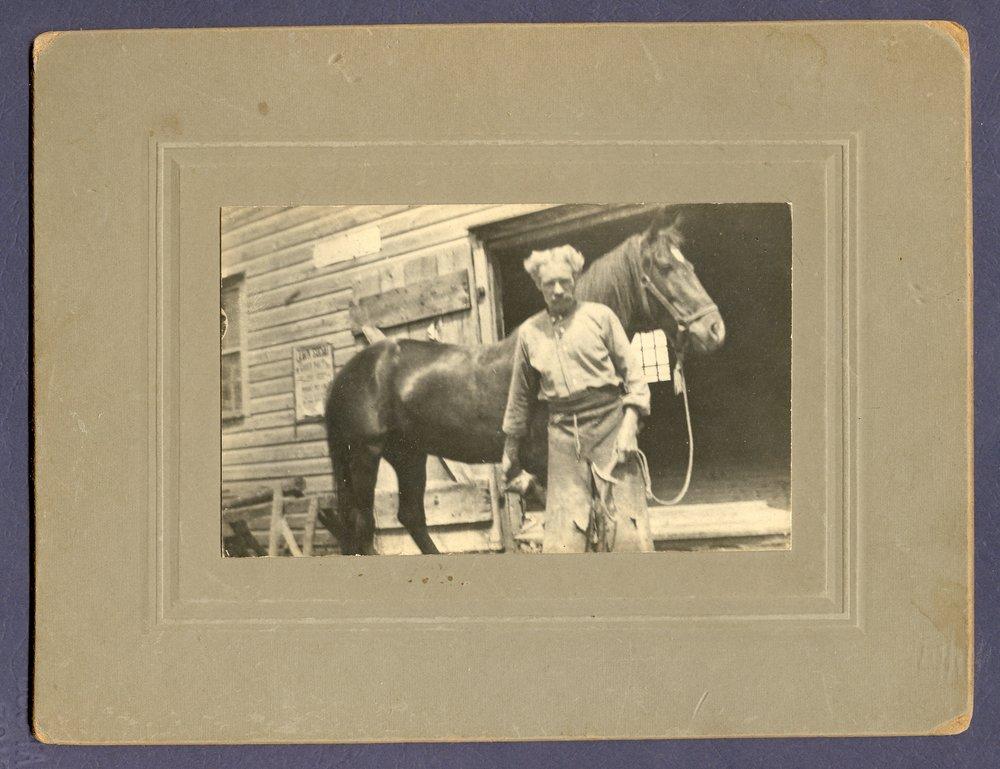 Blacksmith Grandpa Jesse Neal (Marmora