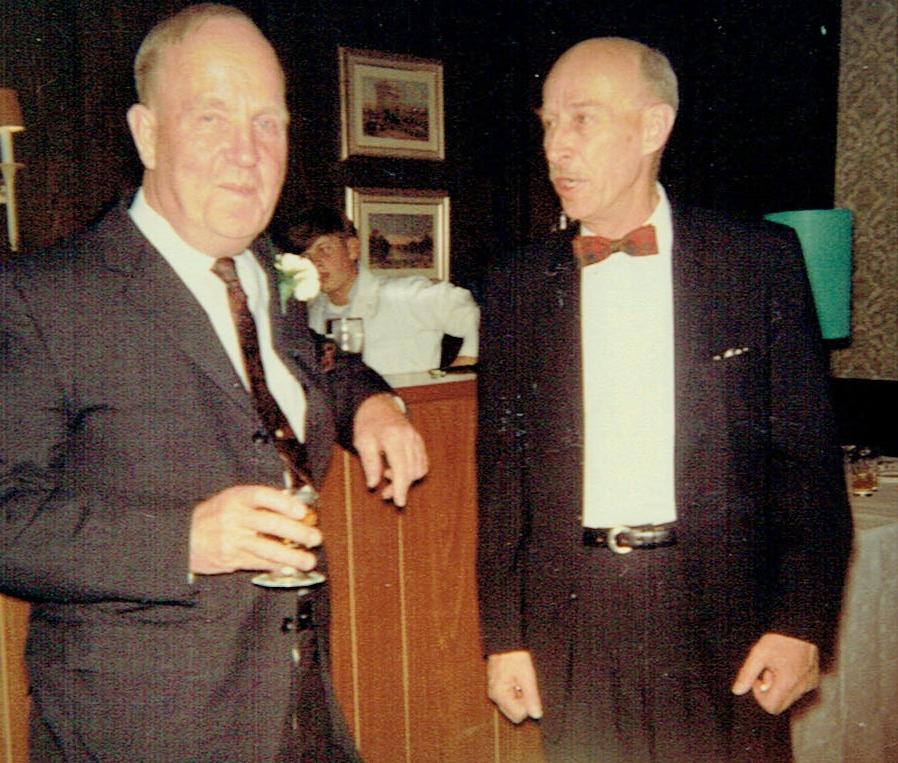 1968 Marmoraton Mine 1st head, Al Lorenson w. Alex Fraser