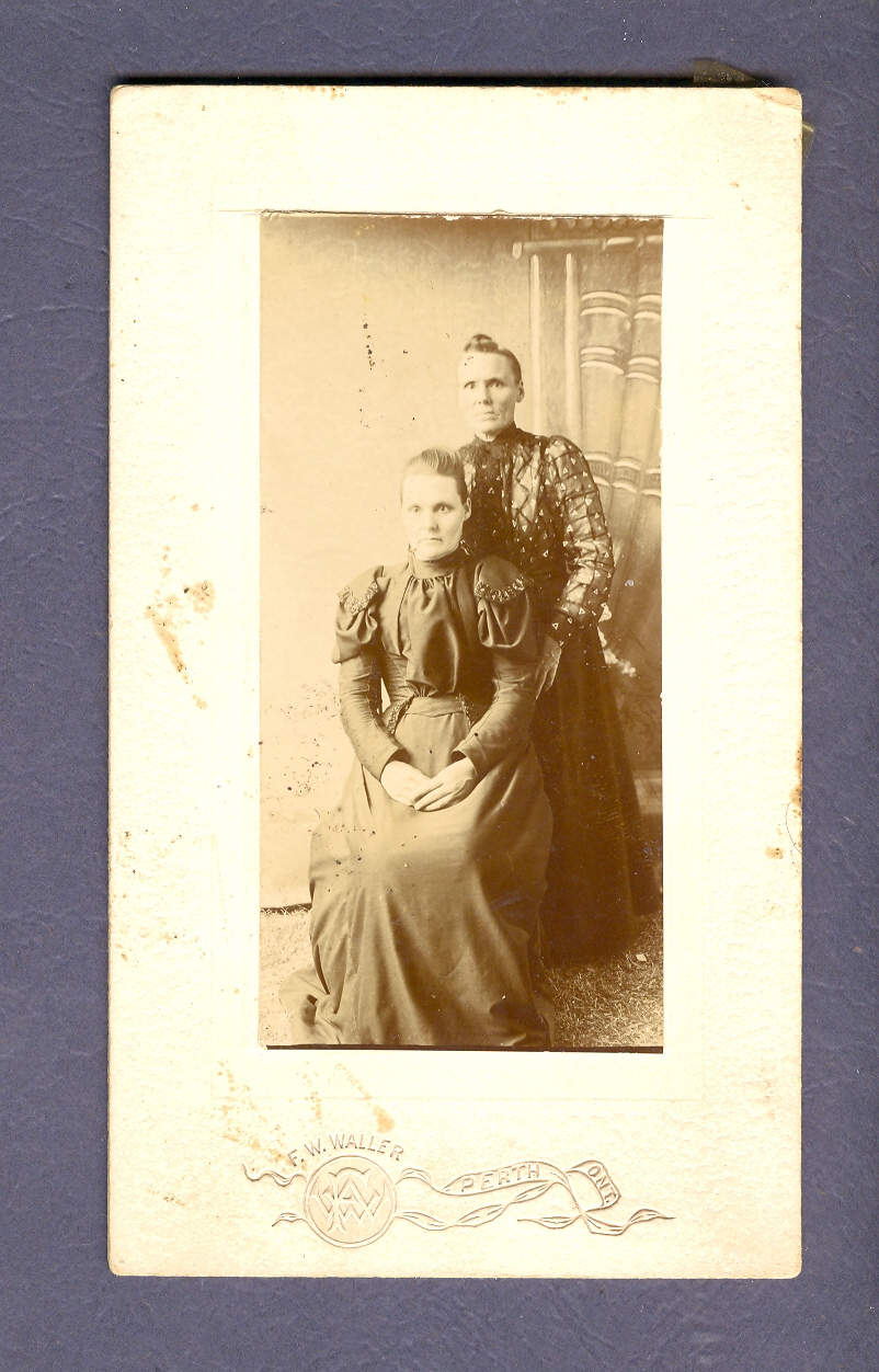 Grandma Presley and Aunt Emma Neal.