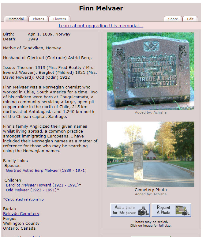 Melvaer,  Finn Grave.jpg