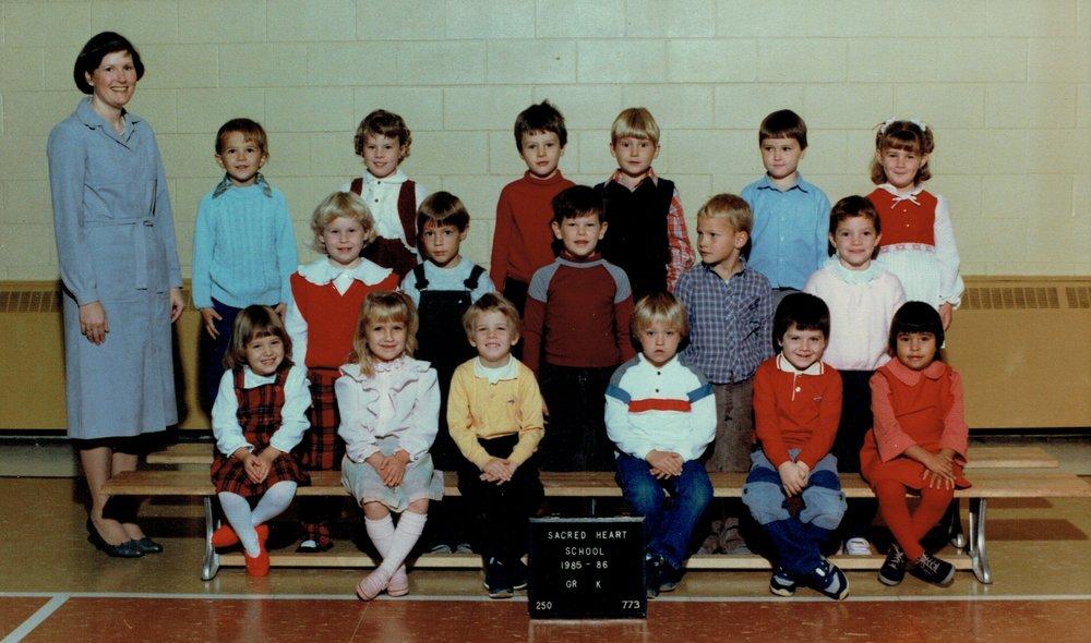 1985-86 Kindergarten