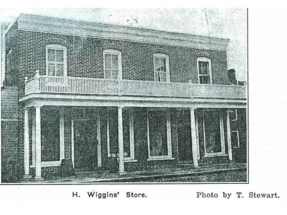 H. Wiggins store Stewart 1914