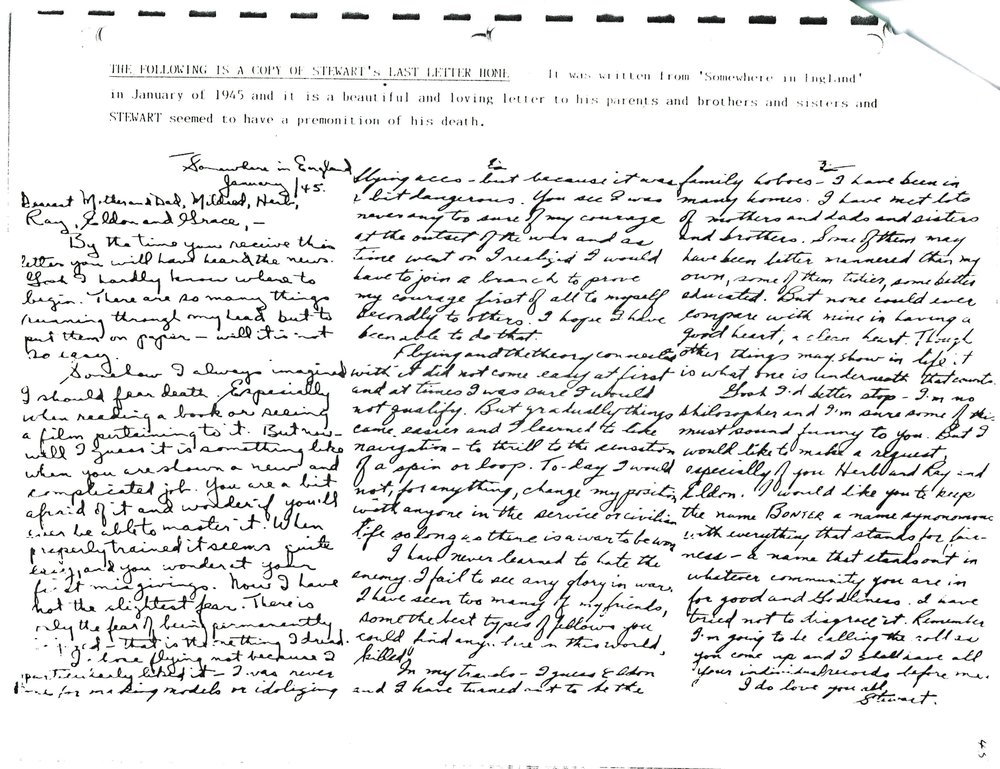 Stewart Bonter,  Last letter.jpg