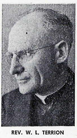 Reverand Wildred Terrion 1900-1963