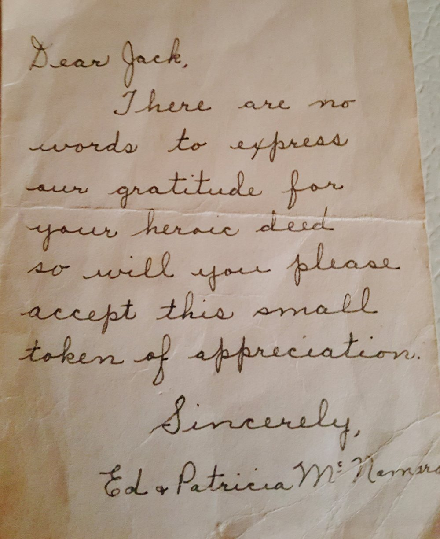 Letter of Gratitude