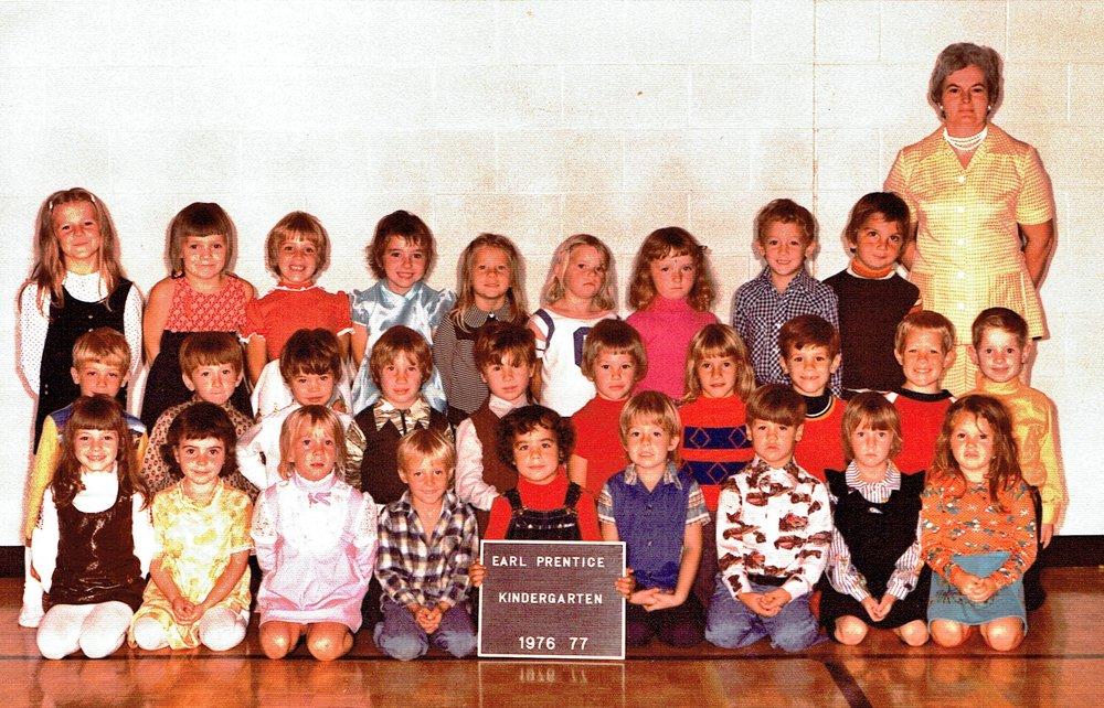 Kindergarten Mrs. Jean Shannon