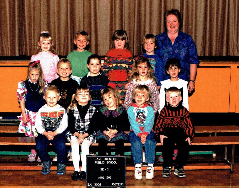 1992-93 Sr. Kindergarten